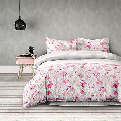 AmeliaHome Flanelové obliečky Sweet Dreams, 200 x 220 cm, 2 ks 70 x 90 cm