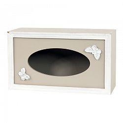 Box na vreckovky Papillon, 24,5 cm