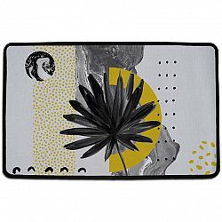 Butter Kings Vnútorná multifunkčná rohožka Still life with leaf, 75 x 45 cm