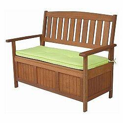 Drevená lavica s úložným priestorom Diana