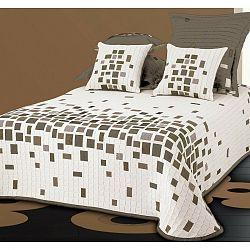 Forbyt Prehoz na posteľ Derby béžová, 140 x 220 cm