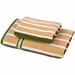 Jahu Sada Stripes Harmonized 1 uterák a osuška, 70 x 140 cm, 50 x 100 cm