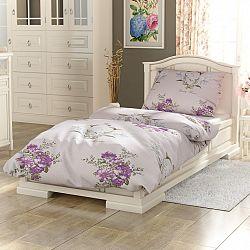 Kvalitex Bavlnené obliečky Provence Beatrice fialová