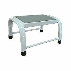 Oceľová jednostupňová stolička