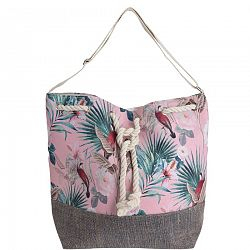 Plážová taška Jungle, ružová