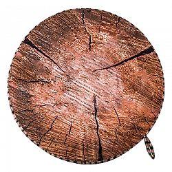 Sedák Drevo hnedá, 40 cm