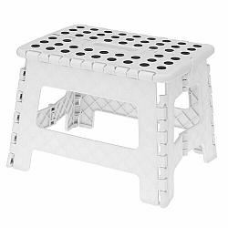 Skladacia stolička biela, 29 x 22 cm