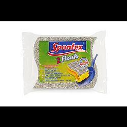 Spontex Flash hubka na teflón, 2 ks