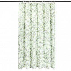 Sprchový záves Romance zelená, 180 x 180 cm