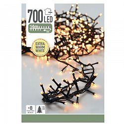 Svetelná vianočná reťaz Twinkle teplá biela, 700 LED