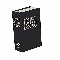 Trezor Kniha 23,5 x 15,5 x 5,5 cm, čierna