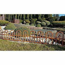 Záhradný plôtik Bolt terakota, 2,3 m