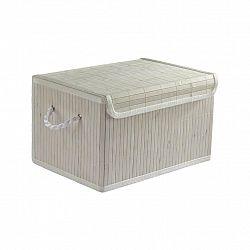 Košík Bambus Biely