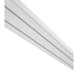Záclonová Koľajnička Amelie, 250cm, Biela