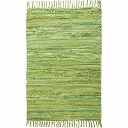 Zošívaný Koberec Tonal 2, 70/200cm, Zelená